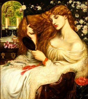 Lady Lilith, by Dante Gabriel Rossetti