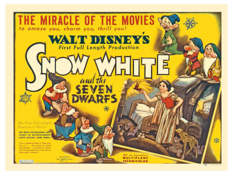 Wicked Wiles Disney Princess Blog Analysis Snow White and the Seven Dwarfs Gender Politics Feminism Pop Culture