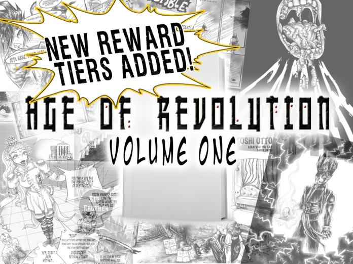 Age of Revolution Volume One Kickstarter Cover