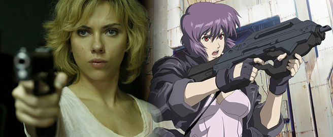 Scarlett Johansson as 'Motoko Kurasungi' in 'Ghost in the Shell'