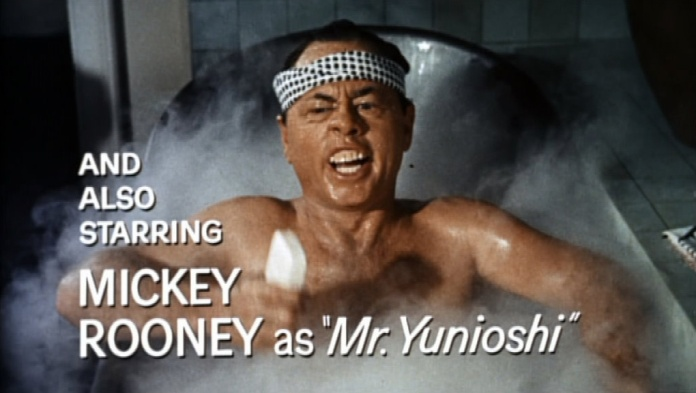 Mickey Rooney as 'Mr. Yunioshi' in 'Breakfast at Tiffanys'