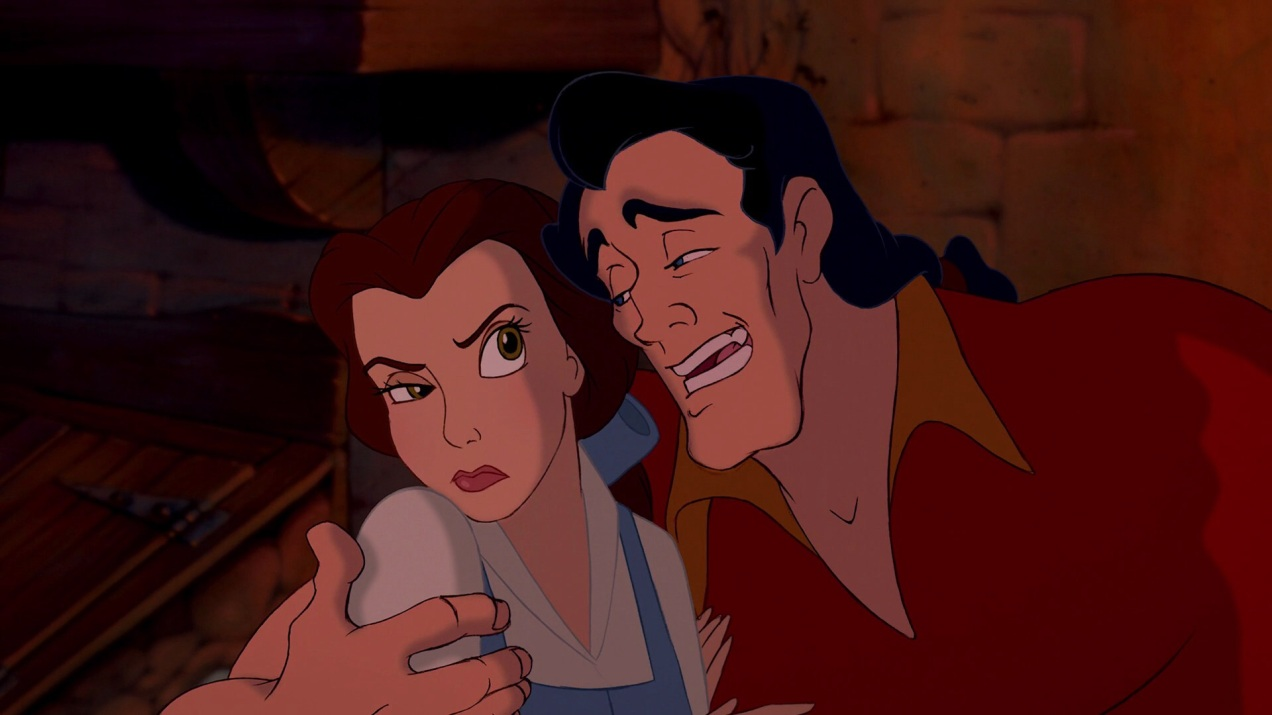 Beauty and the Beast, Belle and Gaston