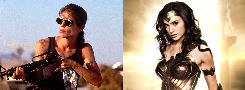Why don't female action stars look as strong as male ones?